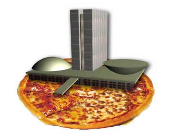 5- Acabar em pizza
