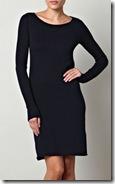 Closed Black Knit Dress