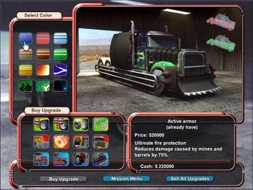 Video Juegos de Camiones Mad Truckers