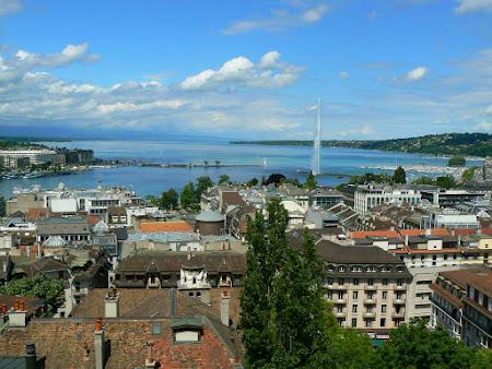 Imagini Elvetia: Panorama Geneva
