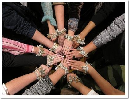 SB bling bracelets