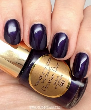 Dior Marine Blueberry