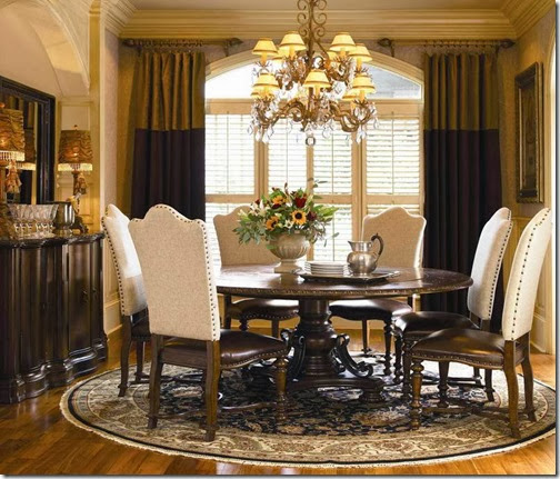 Pottery-Barn-Round-Table-Dining-Room-With-Carpet-Round