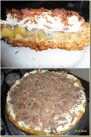 banoffee pie diet da borbols