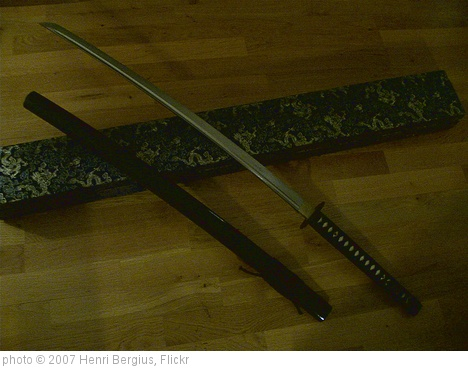 'My new sword' photo (c) 2007, Henri Bergius - license: http://creativecommons.org/licenses/by-sa/2.0/
