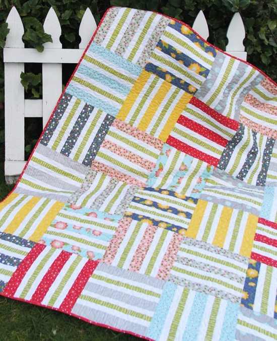 Wicker Jelly Roll Quilt