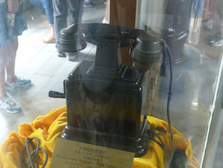Tehnica secol XIX: telefonul imparatesei Chinei