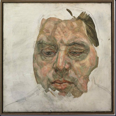 francis bacon by lucian freud