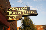 """Canton Printing Co."" - copyright Tim Pawlak"