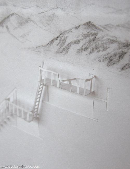 obras de arte em papel 3D origami Peter Callesen desbaratinando (46)