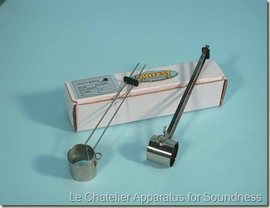 Le Chatelier Apparatus for Soundness