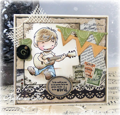 free birthday cards images. I serenade you… a irthday card