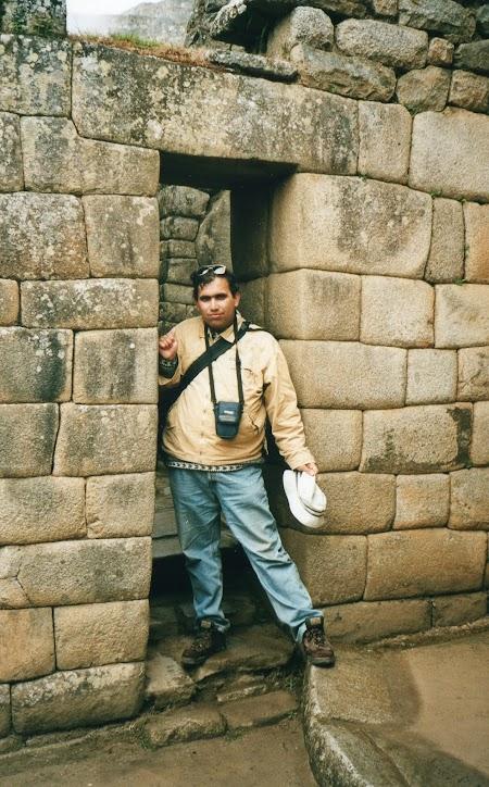 cladiri inca la Macchu Pichu