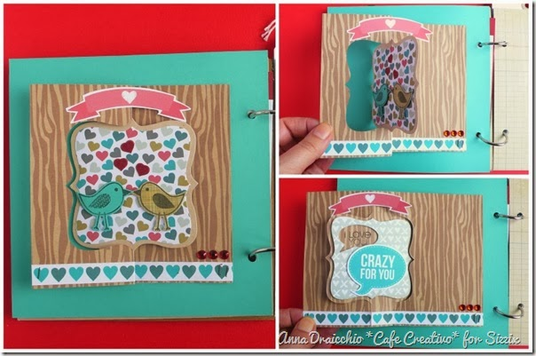 cafe creativo - Anna Drai - sizzix big shot - Mini album - Valentine (3)