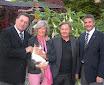 5000 €uro-Scheck für Camphill-Zentrum