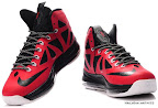 lbj10 fake colorway red black white 1 02 Fake LeBron X