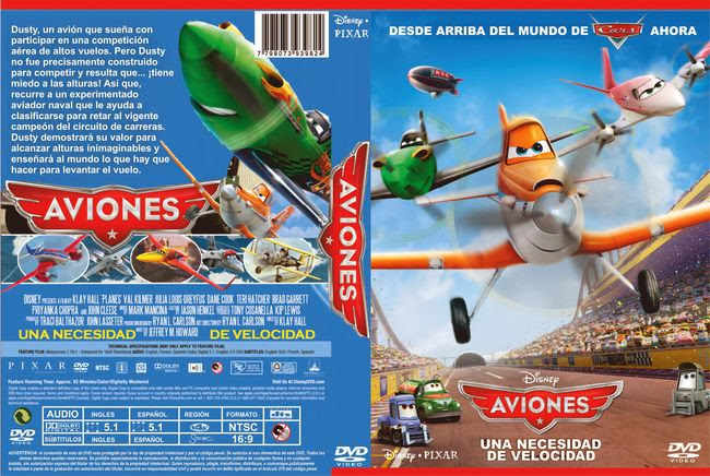 Planes – Latino – DVD9
