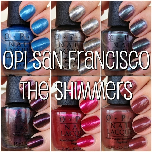 OPI San Francisco - The Shimmers