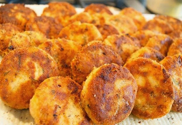 Fish Cakes - Pan Fried