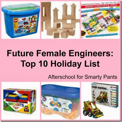 Recommendations for Girl Engineers: Afterschool for Smarty Pants