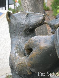 Winnie the Bear at winnipeg zoo