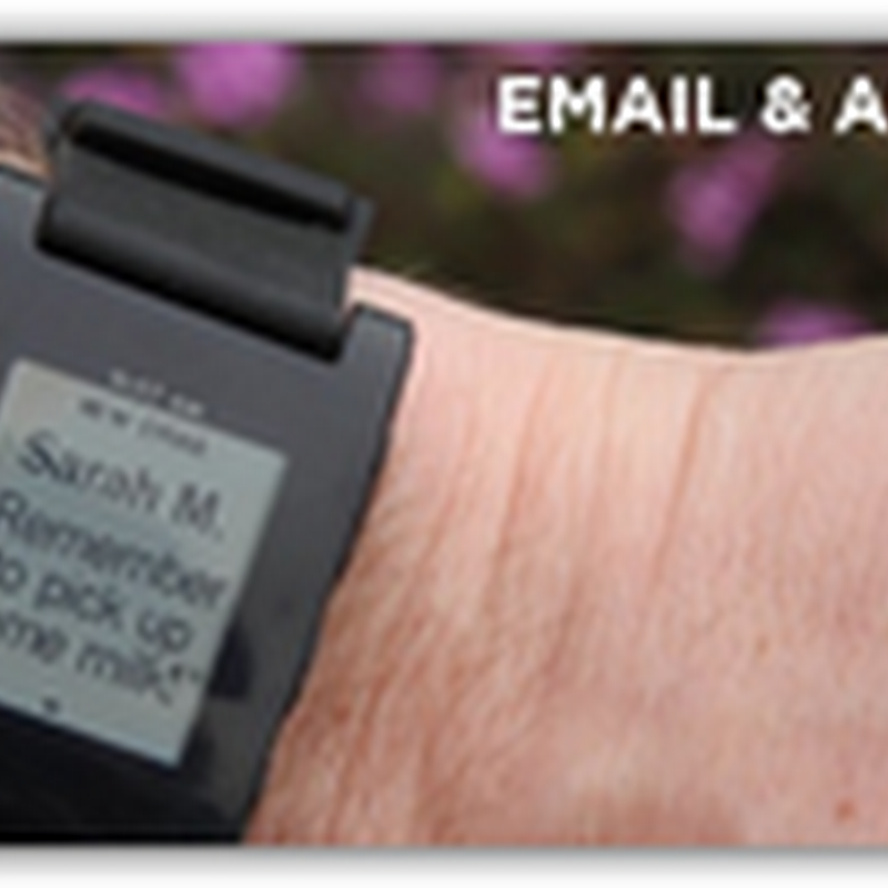 Pebble Watch–Companion for iPhone and Android As a Companion for mHealth Apps With Crowd Source Funding (Video)