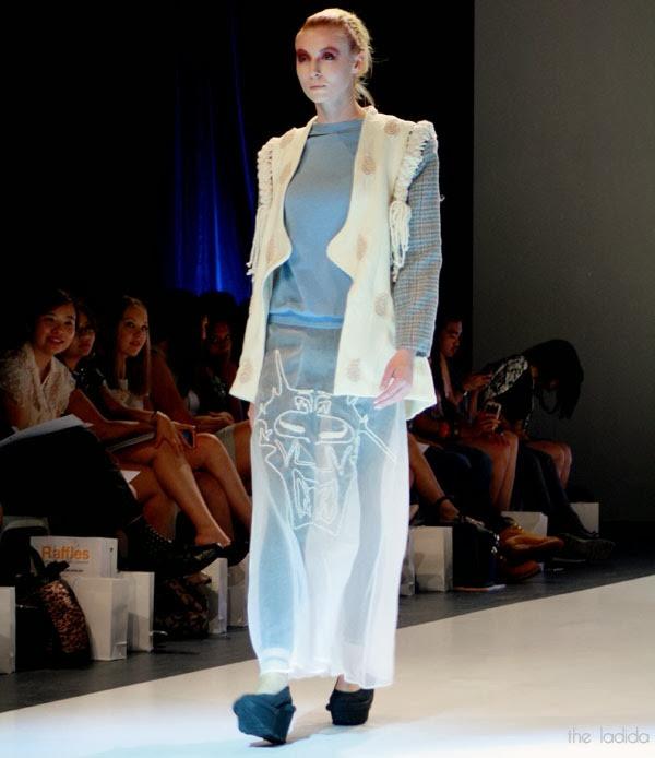 Raffles Graduate Fashion Show 2013 - Vivienne Khong