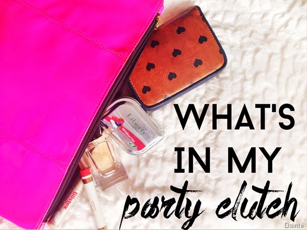 what-is-in-my-party-clutch-dainte-blog