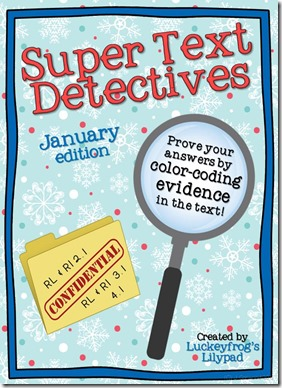 Text Detectives- Find the Evidence- January