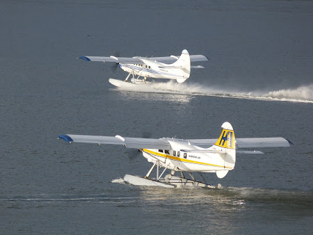 Mijloace de transport in Canada: hidroavioane la mare pret