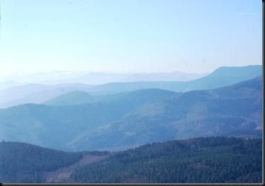 Koeningsburg - Vosges Mountain view