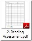 reading ass