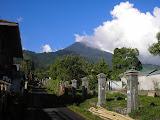 Gunung Klabat as seen from Airmadidi (Daniel Quinn, August 2010)