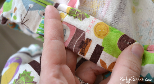 Fitted Crib Sheet Sewing Tutorial