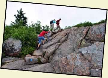 11 - Climb the granite