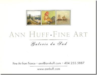 Ann Huff Fine Art ID