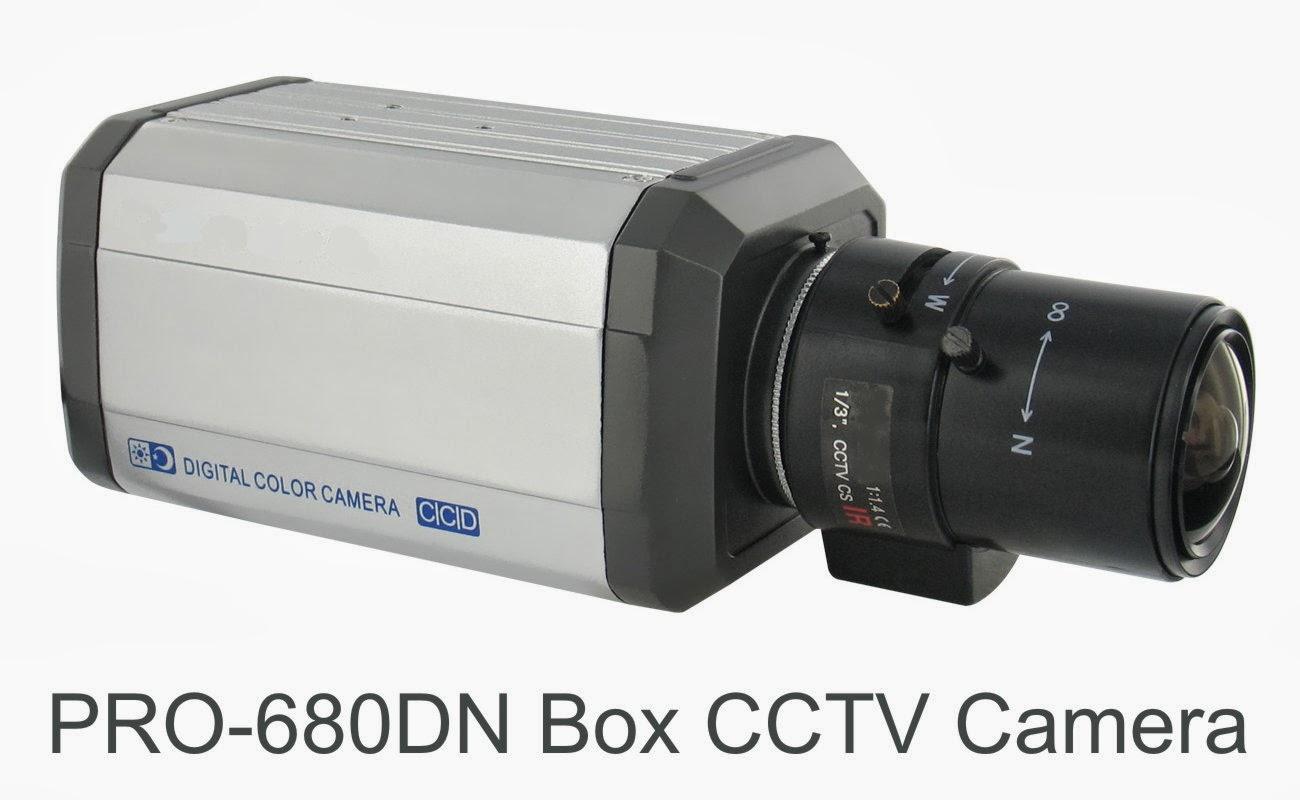 View Comparison of CCTV Camera Lens Sizes