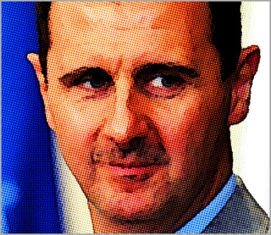 Syrian President and all-around ass hole Bashar al-Assad.