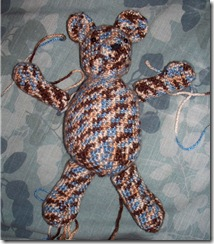 Crocheted Teddy for Eddie
