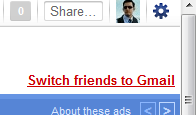Switch friends to Gmail