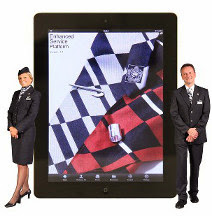 Airlines show how tablets create loyalty ESP