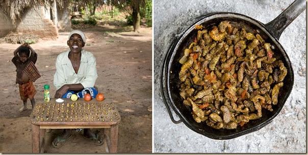 Portraits de grand-mères et leurs plats cuisinés (5)
