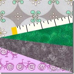 Tape measure with fabrics