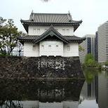 emperor's palace in Tokyo, Tokyo, Japan