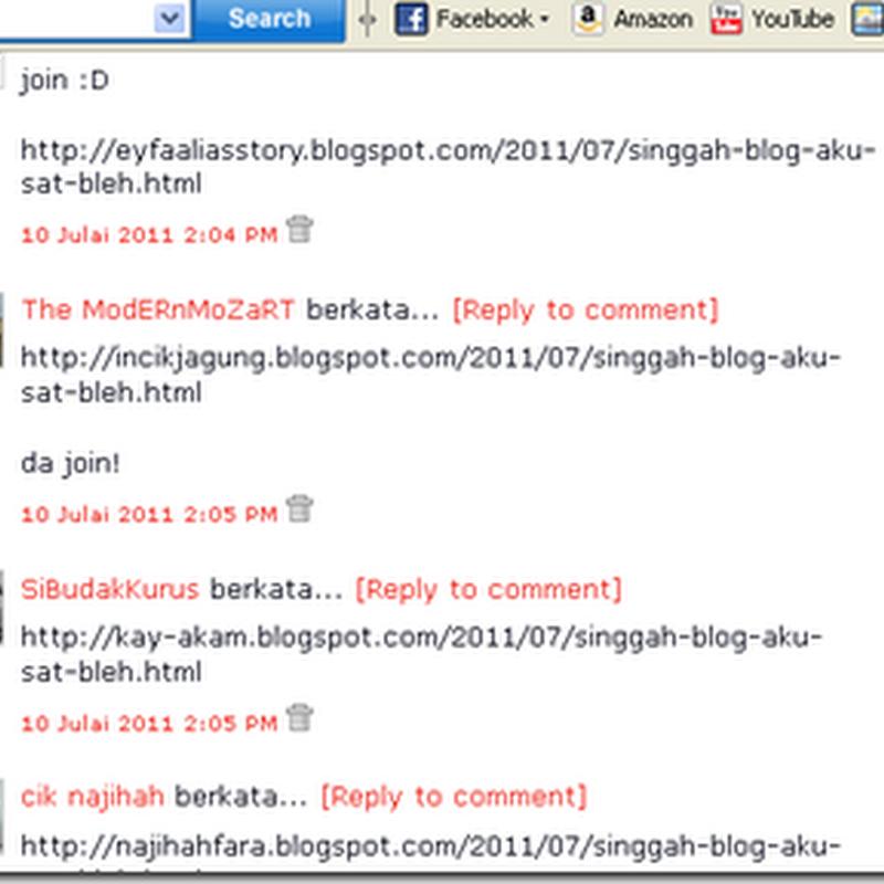 Jom singgah blog kitorang sat sebelum tutup !