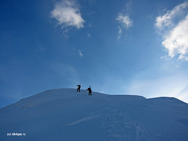 2013.04.20 - Fagaras - Vf Modoveanu - Schi-Alpinism
