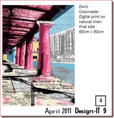 Doric Colonnade - Clare Lane