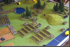 German armour advances