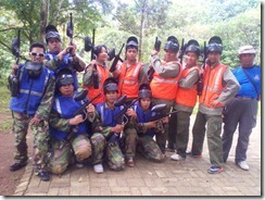 outbound paint ball kampoeng caringin