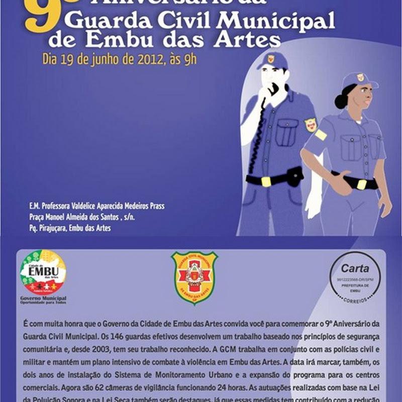 9º Aniversário da Guarda Civil Municipal de Embu das Artes